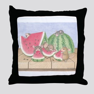 Full of Melon Throw Pillow