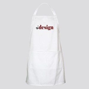 "I ""Design"" (red) BBQ Apron"