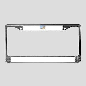 Candlelit Voyage License Plate Frame