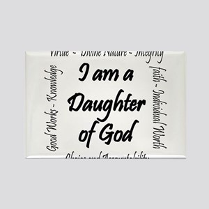 I Am a Daughter of God Rectangle Magnet