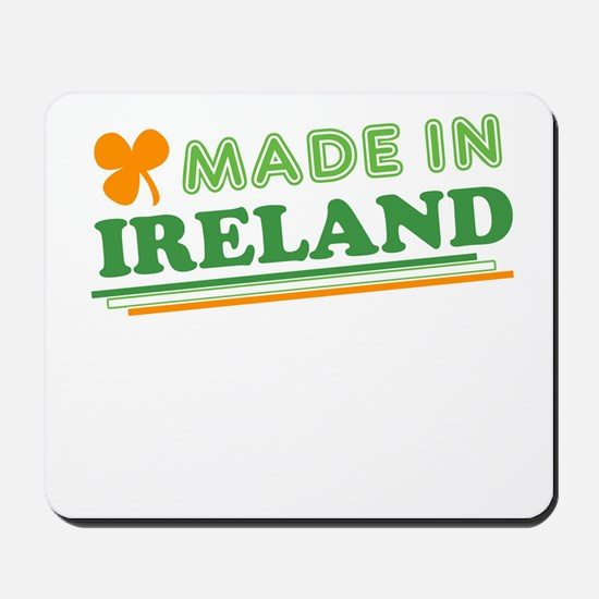 Made In Ireland St Patricks Day Mousepad