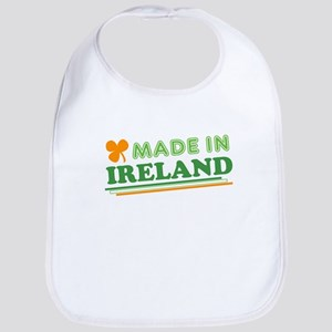 Made In Ireland St Patricks Day Bib