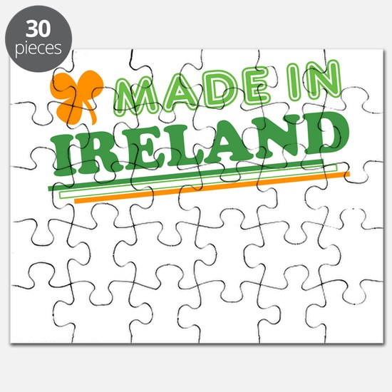 Made In Ireland St Patricks Day Puzzle