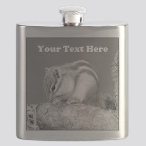 Chipmunk. Custom Text. Flask