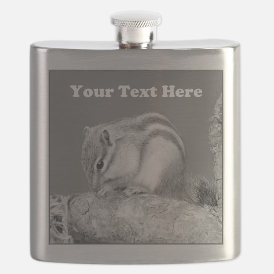 Chipmunk. Custom Text. Flask
