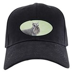 Schnauzer Black Cap with Patch