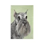 Schnauzer Rectangle Magnet (10 pack)