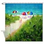 Path to the Beach Shower Curtain