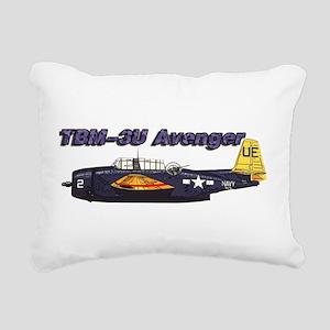 TBM-3U Avenger Rectangular Canvas Pillow