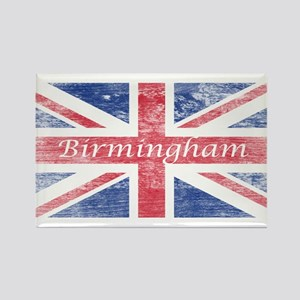 Birmingham 2 Rectangle Magnet