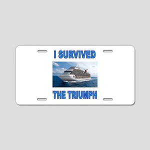 SURVIVOR Aluminum License Plate