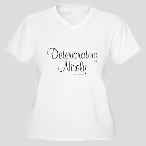 3-DeterioratingNicely_lds Plus Size T-Shirt