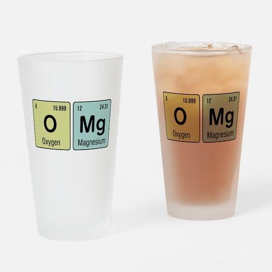 OMG - Chemistry Drinking Glass