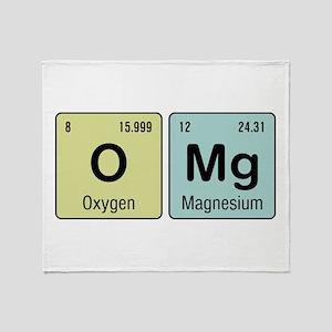OMG - Chemistry Throw Blanket