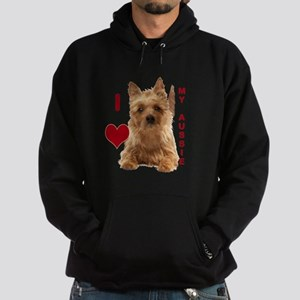 aussie terrier Hoodie (dark)