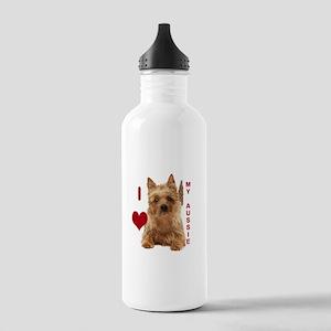 aussie terrier Stainless Water Bottle 1.0L