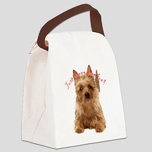 aussie terrier Canvas Lunch Bag