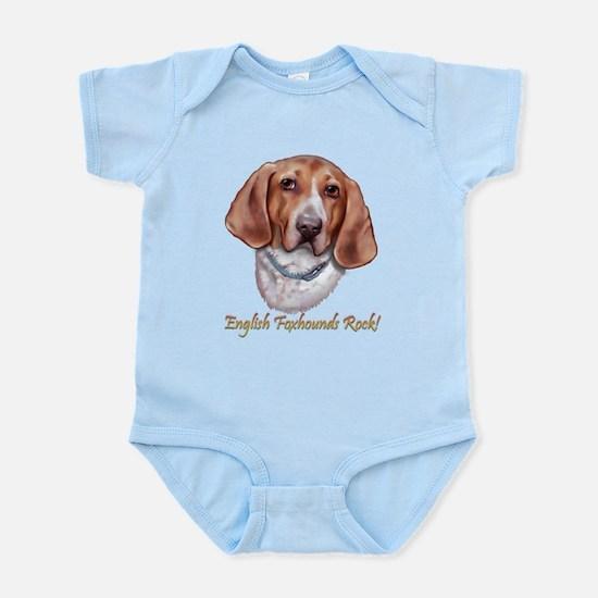 English Foxhounds Rock Infant Bodysuit