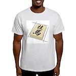 Shogi Piece Ash Grey T-Shirt