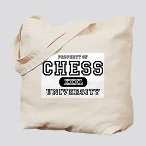 Chess University Tote Bag