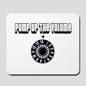 """Pump Up The Volume"" Mousepad"