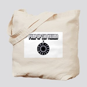 """Pump Up The Volume"" Tote Bag"