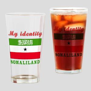 My Identity Somaliland Drinking Glass