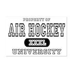 Air Hockey University Mini Poster Print