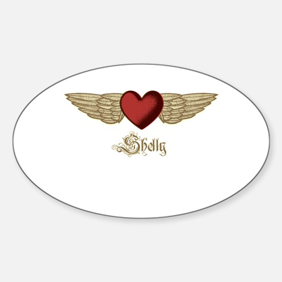 Shelly the Angel Decal