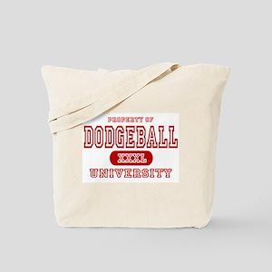 Dodgeball University Tote Bag