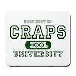 Craps University Mousepad