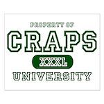 Craps University Small Poster