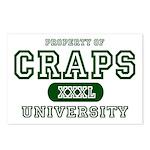 Craps University Postcards (Package of 8)