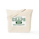 Craps University Tote Bag