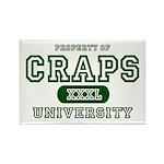 Craps University Rectangle Magnet