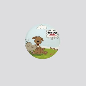 burin spca logo Mini Button