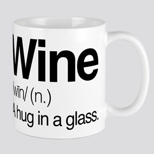 Wine A Hug In A Glass 11 oz Ceramic Mug