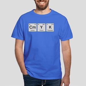 Periodic CMYK Dark T-Shirt