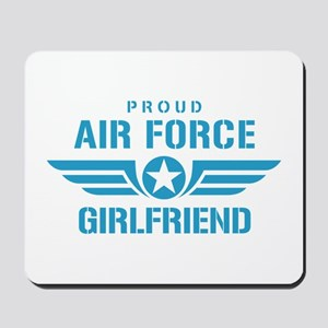 Proud Air Force Girlfriend W Mousepad