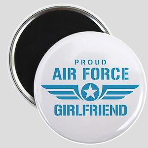 Proud Air Force Girlfriend W Magnet