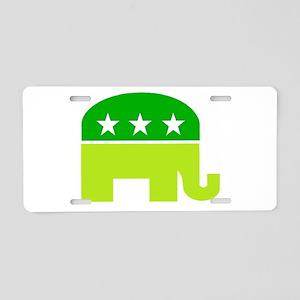 saint patricks dayt elephant Aluminum License Plat