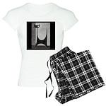 Retro Mid Century Jazz Cat Women's Light Pajamas