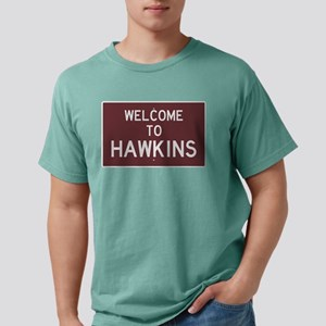Welcome to Hawkins Mens Comfort Colors Shirt