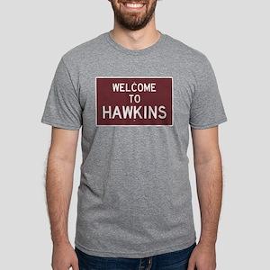 Welcome to Hawkins Mens Tri-blend T-Shirt