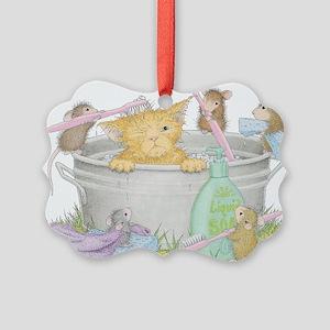 Mice Co Cat Wash Ornament