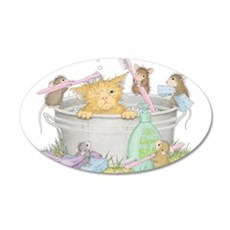 Mice Co Cat Wash Wall Decal