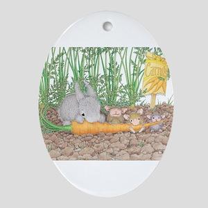 Garden Feast Ornament (Oval)