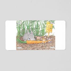 Garden Feast Aluminum License Plate