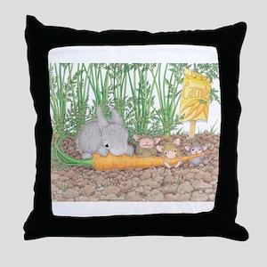 Garden Feast Throw Pillow