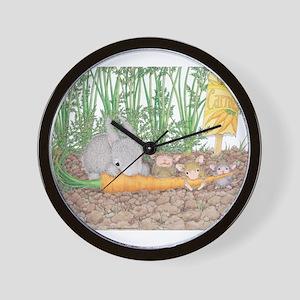Garden Feast Wall Clock